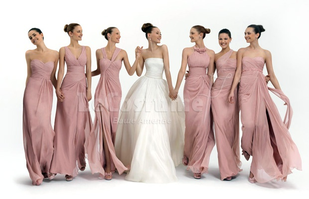 Пошив платьев подружек невесты